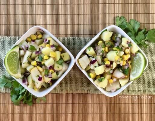 sweet potato asian pear salad