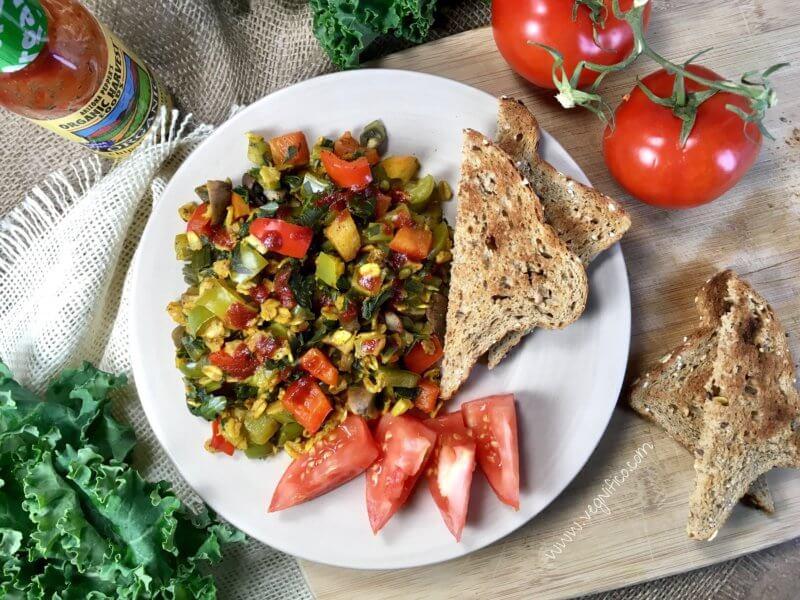 breakfast veggie oats