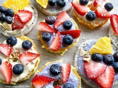fruit toasts