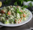 healthy cauliflower tobbouleh salad