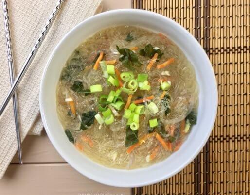 kale miso soup